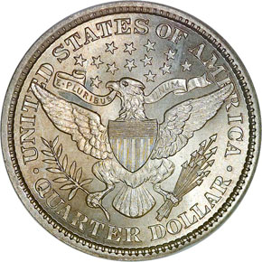1898 25C MS reverse