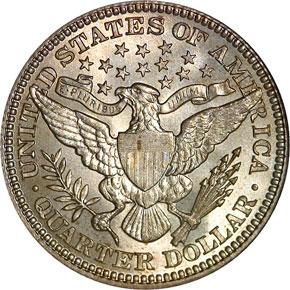 1903 25C MS reverse