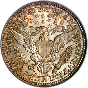 1904 O 25C MS reverse