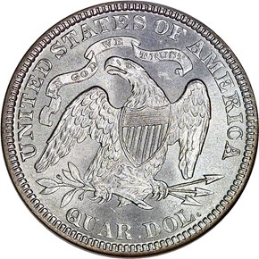 1887 25C MS reverse