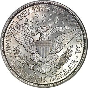 1899 S 25C MS reverse