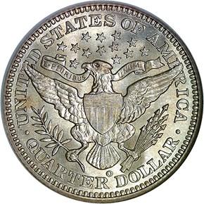 1905 O 25C MS reverse