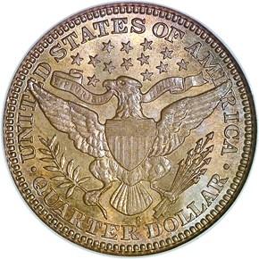 1905 S 25C MS reverse
