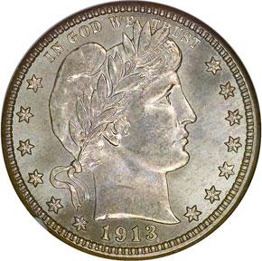 1913 S 25C MS obverse