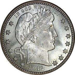 1912 S 25C MS obverse