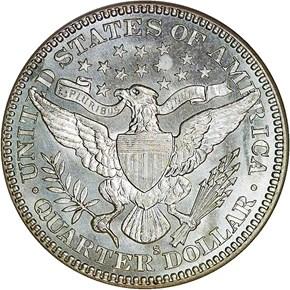 1912 S 25C MS reverse