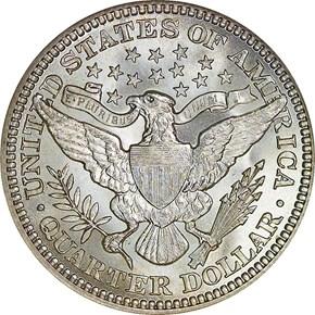 1913 25C MS reverse