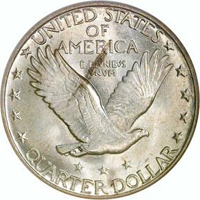1918 25C MS reverse