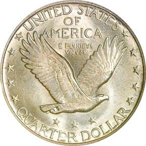 1919 D 25C MS reverse