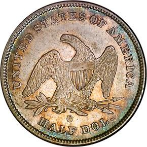 1840 O 50C MS reverse