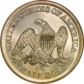 1860 S 50C MS reverse