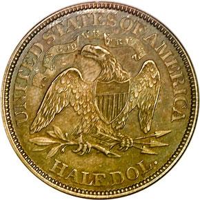 1868 50C MS reverse
