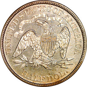 1870 50C MS reverse