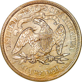 1871 S 50C MS reverse