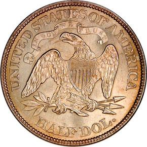 1872 50C MS reverse