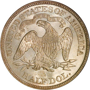 1875 50C MS reverse