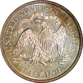 1886 50C MS reverse