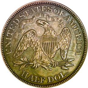1887 50C MS reverse