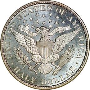 1892 S 50C MS reverse