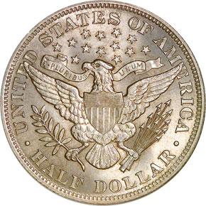 1893 50C MS reverse