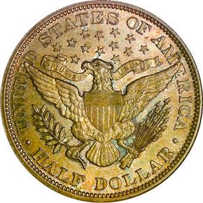 1895 50C MS reverse