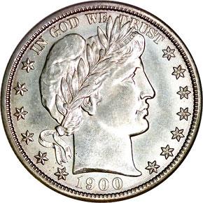 1900 S 50C MS obverse