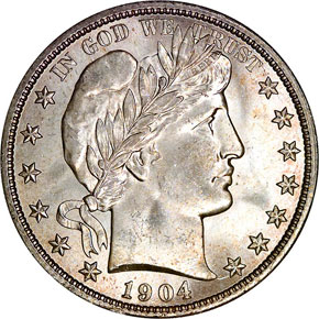 1904 O 50C MS obverse