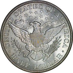 1910 S 50C MS reverse
