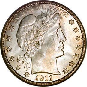 1911 50C MS obverse