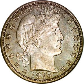 1914 50C MS obverse