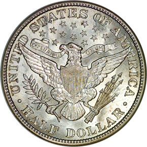 1915 50C MS reverse