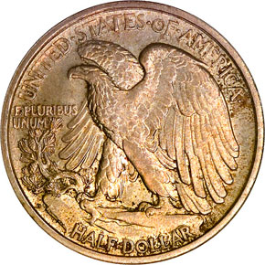 1919 D 50C MS reverse