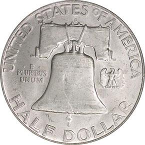 1954 D 50C MS reverse