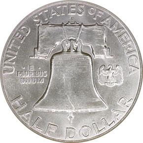 1962 D 50C MS reverse