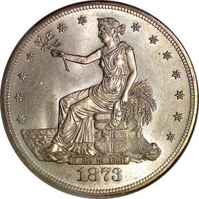 1873 T$1 MS obverse