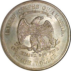 1876 T$1 MS reverse