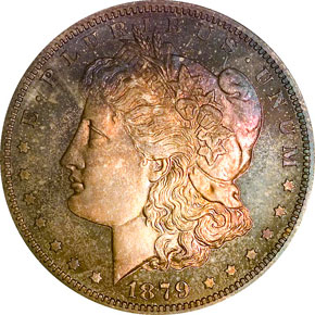 1879 S$1 PF obverse