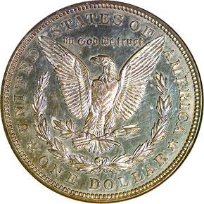 1921 MORGAN CHAPMAN $1 PF reverse