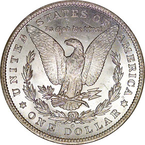 1887/6 O TOP-100 VAM-3 S$1 MS reverse