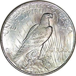 1927 D S$1 MS reverse