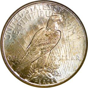1925 S S$1 MS reverse