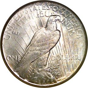 1926 S$1 MS reverse