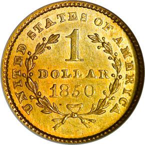 1850 G$1 MS reverse