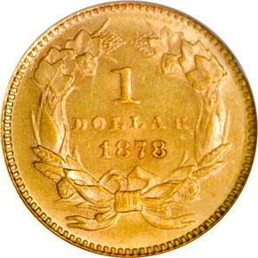 1878 G$1 MS reverse