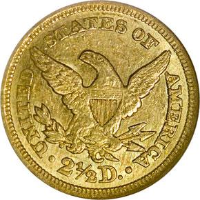 1848 C $2.5 MS reverse