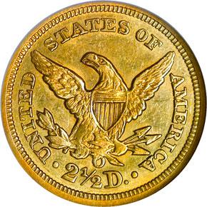 1852 O $2.5 MS reverse