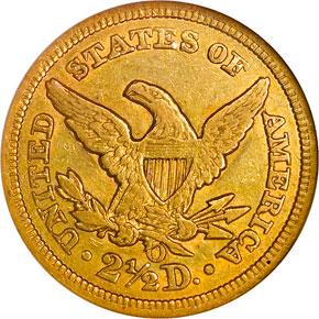 1856 O $2.5 MS reverse