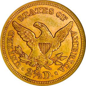 1860 S $2.5 MS reverse