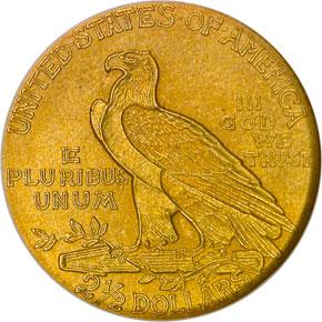 1912 $2.5 PF reverse