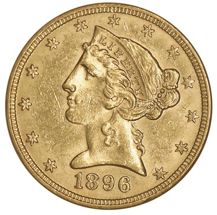 1896 coins worth